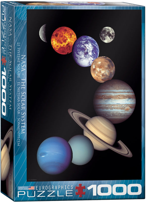 NASA-The Solar System 1000 Piece Puzzle by Eurographics