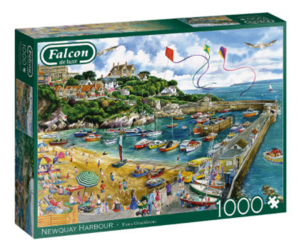 Newquay Harbour 1000 Piece Puzzle by Falcon