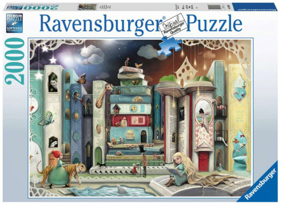 Novel Avenue 2000 Piece Puzzle by Ravensburger