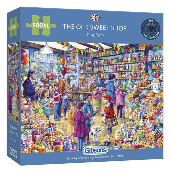 The Old Sweet Shop 500 XL Piece Puzzle By Gibsons