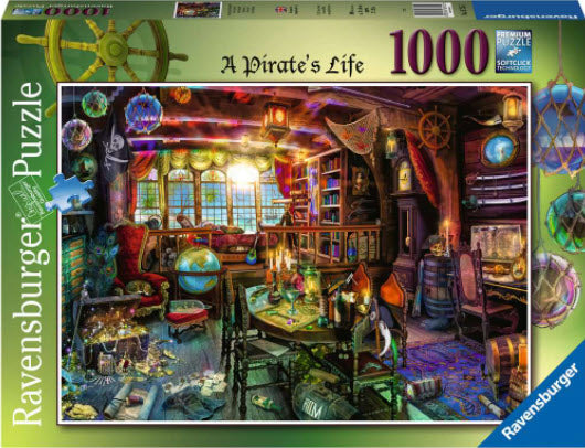 A Pirates Life by Aimee Stewart 1000 Piece Puzzle by Ravensburger