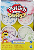Play-Doh Color Burst Assortment (X4)