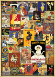 Vintage Posters 1000 Piece Puzzle by Eurographics