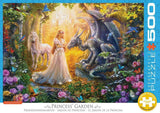 Princess' Garden 500 XL Piece Puzzle by Eurographics