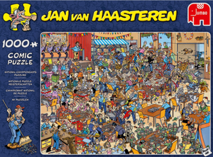Jan van Haasteren –National Puzzling Championships 1000 Piece Puzzle by Jumbo
