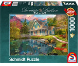 Dominic Davison Lakeside Retirement Home 1000 Piece Puzzle by Schmidt