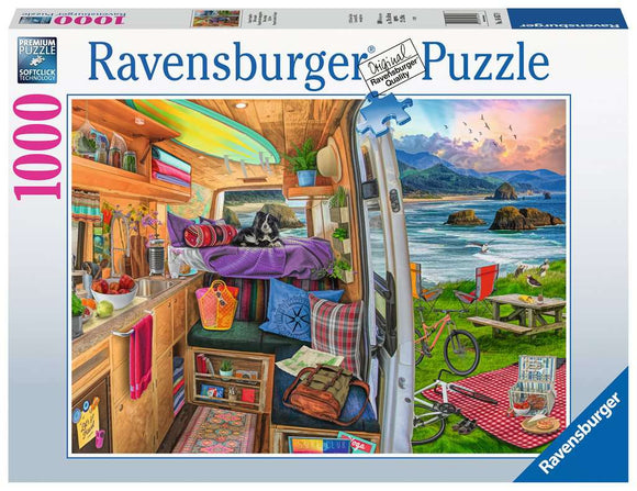 Rig's View 1000 Piece Puzzle by Ravensburger