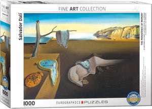 Salvador Dali The Persistence of Memory 1000 Piece Puzzle by Eurographics