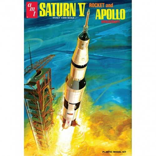 AMT Saturn Rocket (and Apollo Spacecraft) 1:200 Scale