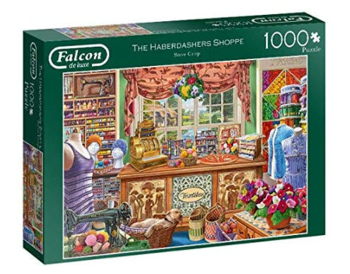 The Haberdashers Shoppe 1000 Piece Puzzle by Falcon