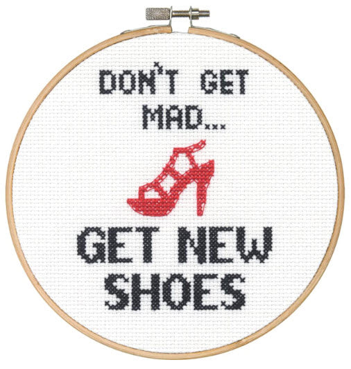 Shoes Dimensions Counted Cross Stitch 6