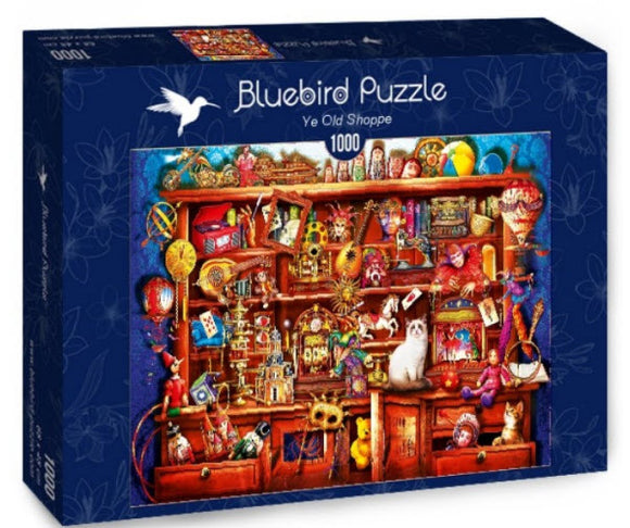 Ye Old Shoppe 1000 Piece Puzzle by Bluebird Puzzle