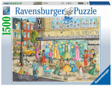 Sidewalk Fashion 1500 Piece Puzzle by Ravensburger
