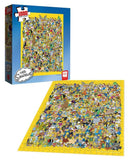 The Simpsons 'Cast of Thousands'  Challenge 1000 Piece Puzzle by USApoly