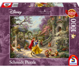 Thomas Kinkade – Disney: Snow White Dancing with the Prince 1000 Piece Puzzle by Schmidt