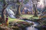 Thomas Kinkade – Disney: Snow White Discovers The Cottage 1000 Piece by Schmidt
