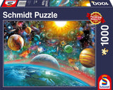 Outer Space 1000 Piece Puzzle by Schmidt