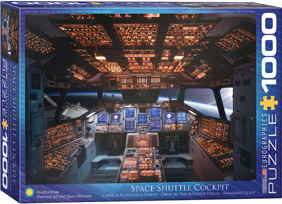 Space Shuttle Cockpit 1000 Piece Puzzle by Eurographics