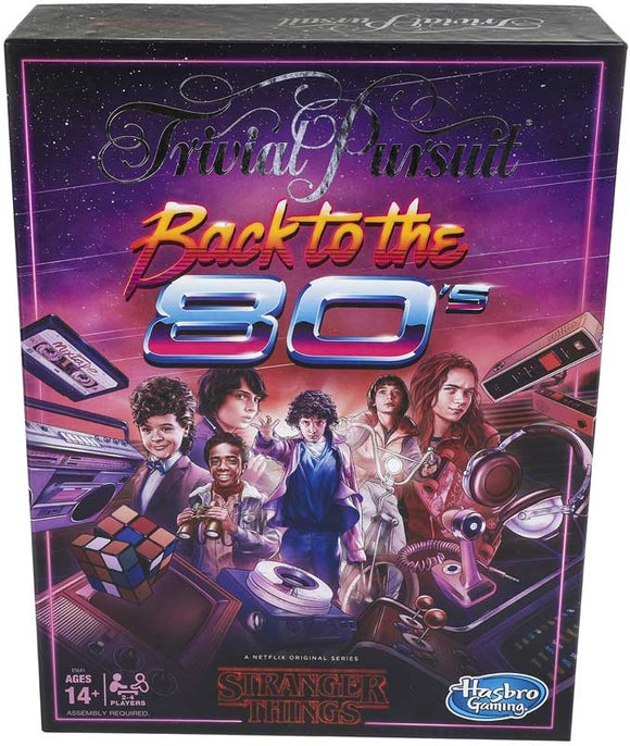 Stranger Things Back to the 80s Trivial Pursuit