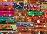 Travel Suitcases 1000 Piece Puzzle by Eurographics
