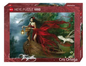 Swans 1000 Piece Puzzle by Heye Puzzles