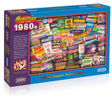 1980s Sweet Memories 1000 Piece Puzzle By Gibsons