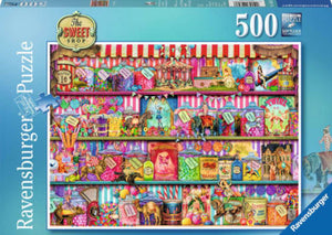 The Sweet Shop by Aimee Stewart 500 Piece Puzzle by Ravensburger