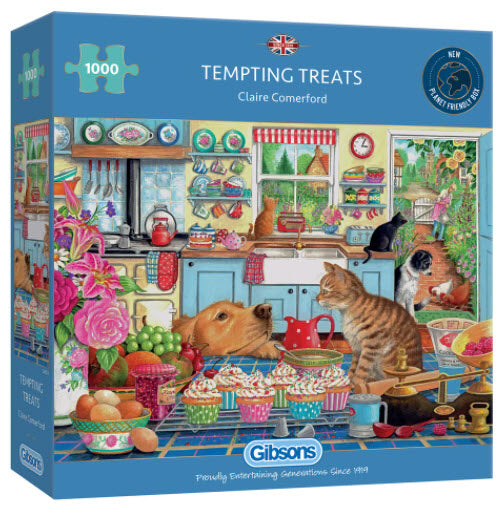 Tempting Treats 1000 Piece Puzzle By Gibsons