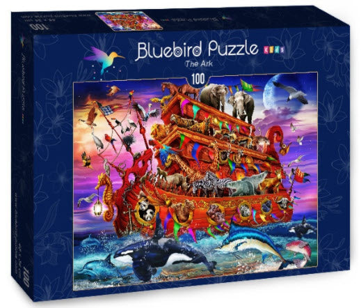 The Ark 100 Piece Puzzle by Bluebird Puzzle