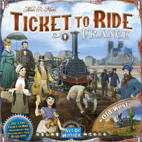 Ticket To Ride: France + Old West Map Collection EXPANSION PACK