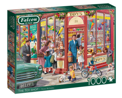 The Toy Shop 1000 Piece Puzzle by Falcon