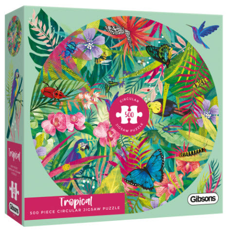 Tropical 500 Piece Puzzle By Gibsons