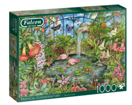 Tropical Conservatory 1000 Piece Puzzle by Falcon