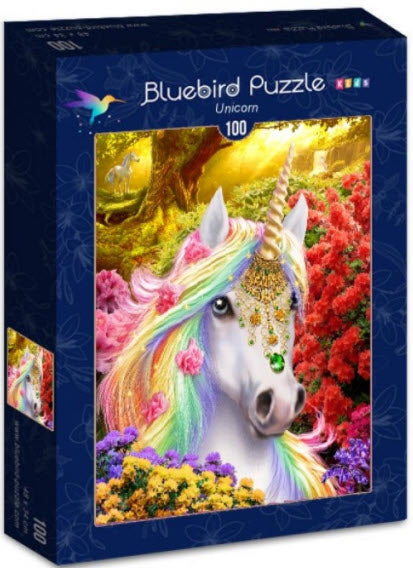 Unicorn 100 Piece Puzzle by Bluebird Puzzle