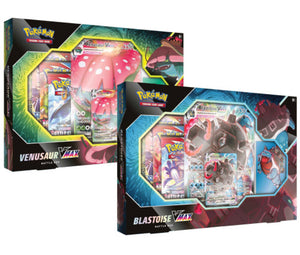 Pokémon TCG: Venusaur/Blastoise VMAX Battle Box CASE