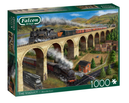The Viaduct 1000 Piece Puzzle by Falcon