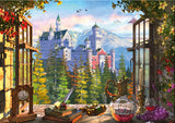 View Of The Fairytale Castle 1000 Piece Puzzle by Schmidt