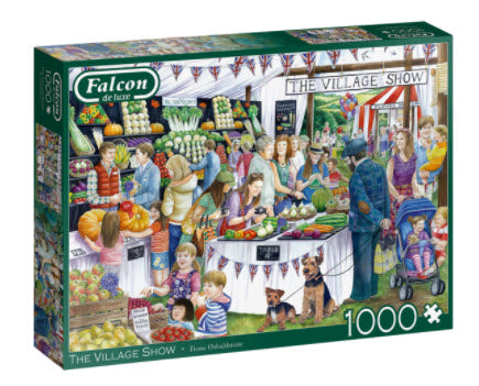 Village Show 1000 Piece Puzzle by Falcon