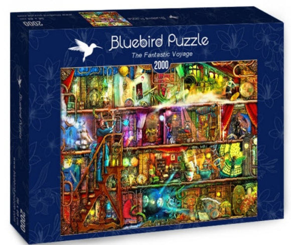 The Fantastic Voyage 2000 Piece Puzzle by Bluebird Puzzle