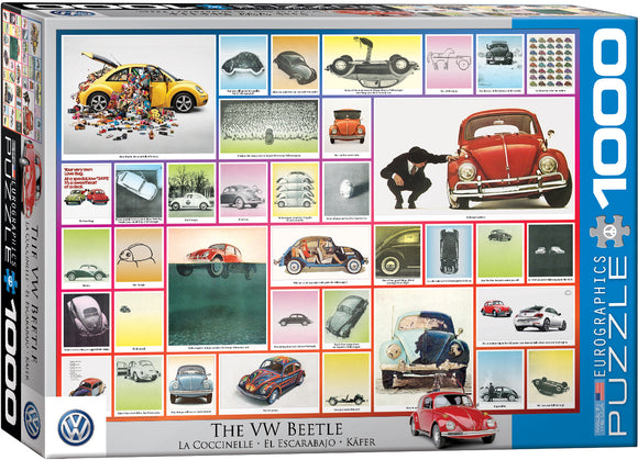 VW Beetle 1000 Piece Puzzle by Eurographics