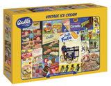 Vintage Wall's Ice Cream Iconics 1000 Piece Puzzle By Gibsons