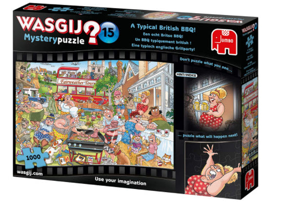 Wasgij 15 A Typical British BBQ 1000 Piece Mystery Puzzle