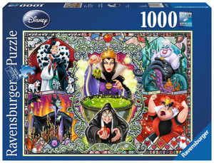 Disney Wicked Women 1000 Piece Puzzle by Ravensburger