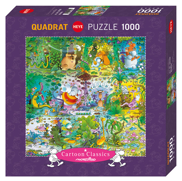 Wildlife 1000 Piece Puzzle by Heye Puzzles