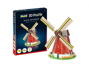 Dutch Windmill Revell 3D Puzzle
