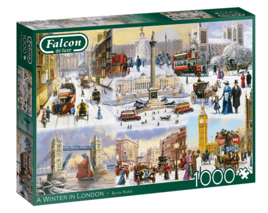 A Winter In London 1000 Piece Puzzle by Falcon