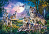Wolf Pack 1500 Piece Puzzle by Schmidt