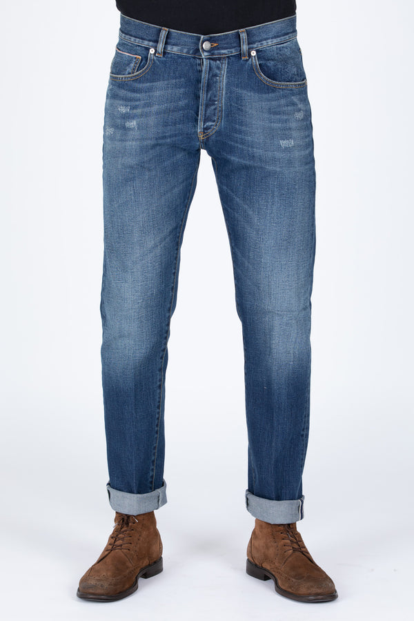DENIM GIAPPONESE CIMOSATO DIRTY - Barmas