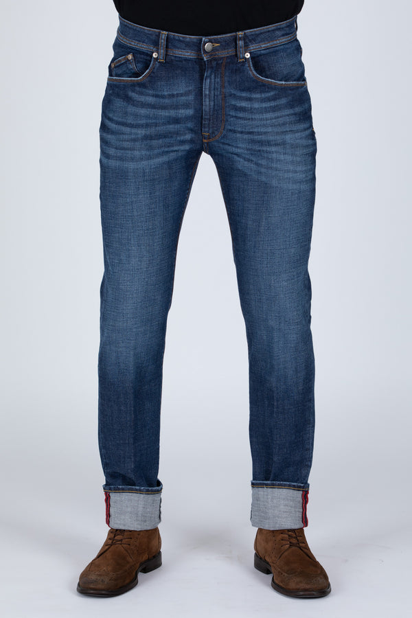 DENIM BLU CROSS - Barmas