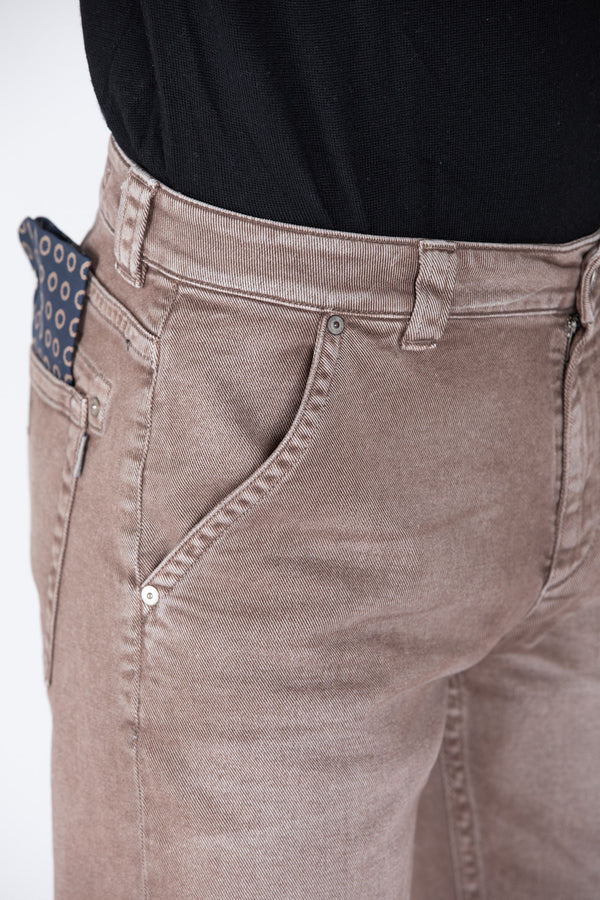 BULL DENIM MARRONE - Barmas
